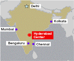 Hyderabad Center Map