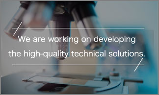 We are working on developing the high-quality technical solutions.
